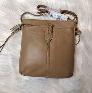 LUCKY BRAND- Genuine leather crossbody bag